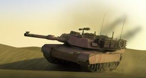De hoge 3d roze tank van onderzoek vector illustratie