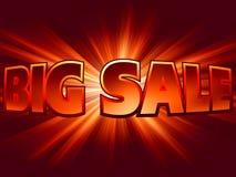 De hoge energie glanst templane grote verkoop. EPS 8 royalty-vrije illustratie
