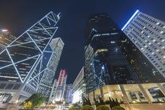 De hoge gebouwen van het stijgings moderne bureau Stock Foto
