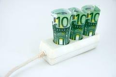 De hoge Kosten van de Elektriciteit Stock Afbeelding