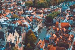 De hoge mening van Brugge Royalty-vrije Stock Foto