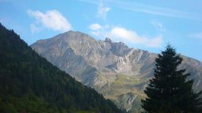 De hoge Piek van de Berg royalty-vrije stock foto's