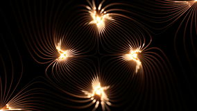 De hoge resolutie voorzag prefectly van een lus lengte van magnetische velden vector illustratie