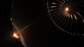De hoge resolutie voorzag prefectly van een lus lengte van magnetische velden royalty-vrije illustratie