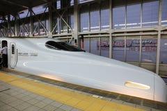 De hoge snelheidsultrasnelle trein van reeksshinkansen Royalty-vrije Stock Afbeeldingen