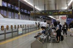 De hoge snelheidsultrasnelle trein van reeksshinkansen Royalty-vrije Stock Fotografie