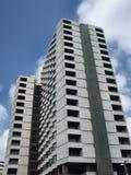 De hoge stijgings moderne bouw stock afbeeldingen