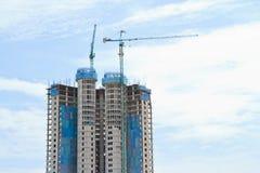 De hoge stijgingsbouw Stock Foto