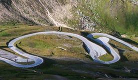 De hoge Weg van de Berg Royalty-vrije Stock Foto's