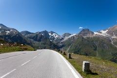 De hoge Weg van de Berg Royalty-vrije Stock Foto