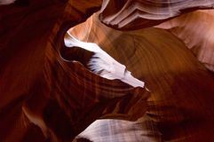 De hogere Canion van de Antilope Royalty-vrije Stock Fotografie