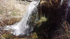 De hogere Dalingen van Battle Creek in de Herfst stock footage