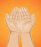 De Holding van de hand vector illustratie