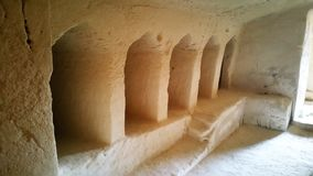 De holen van Beit Jovrin Royalty-vrije Stock Afbeeldingen