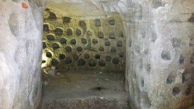De holen van Beit Jovrin Stock Afbeelding
