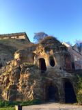 De holen van Castle Rock Royalty-vrije Stock Foto's