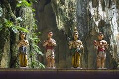 De holentempel van Batu, Kuala Lumpur royalty-vrije stock foto's