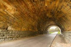 De Holle Tunnels van Zweed stock foto