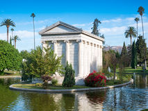 De Hollywood cementerio para siempre - jardín de leyendas imágenes de archivo libres de regalías