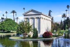 De Hollywood cemitério para sempre - jardim das legendas Imagens de Stock Royalty Free