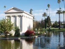 De Hollywood cemitério para sempre - jardim das legendas Fotografia de Stock