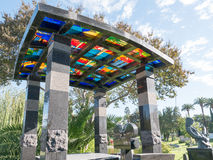 De Hollywood cemitério para sempre - jardim das legendas Fotos de Stock Royalty Free