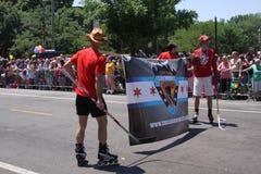 De homosexuelen van het hockey Royalty-vrije Stock Foto