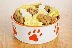 De hond behandelt koekjes Royalty-vrije Stock Foto