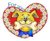 De hond van de liefde Royalty-vrije Stock Afbeeldingen