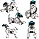 De Hond van de robot Royalty-vrije Stock Foto's
