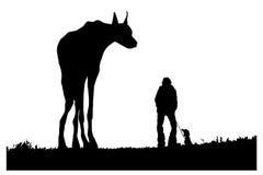 De hond van het monster stock illustratie