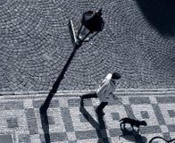 De hond van Prag Royalty-vrije Stock Afbeeldingen