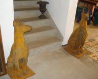 De honden van de ijzerwacht royalty-vrije stock afbeeldingen