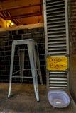 De hondenbar in Barcelona stock foto