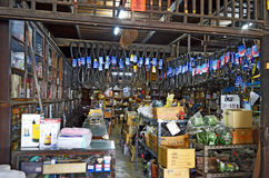 De Honderdjarige Markt van Khlongsuan dichtbij Bangkok, Thailand Royalty-vrije Stock Foto's
