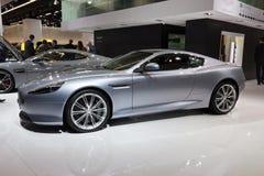 De Honderdjarige Uitgave van Aston Martin DB9 Royalty-vrije Stock Afbeeldingen