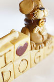 De hondmodel 2 van het stuk speelgoed Royalty-vrije Stock Foto