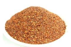 De Honeybushthee - grote smaak en ziet eruit stock afbeelding