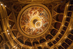 De Hongaarse Opera Boedapest van de Staat Royalty-vrije Stock Foto