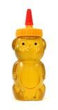 De honing in plastiek draagt container Stock Afbeeldingen