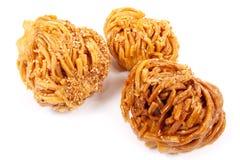 De honing van Baklava. Royalty-vrije Stock Foto