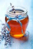 De Honing van de lavendel Royalty-vrije Stock Afbeeldingen