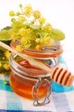 De honing van de linde Stock Afbeelding
