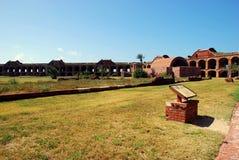 De HoofdBinnenplaats van Jefferson van het fort Stock Afbeelding