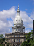 De hoofdbouw in Lansing Michigan stock fotografie