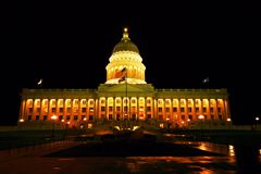 De hoofdbouw in Salt Lake City Utah Stock Fotografie