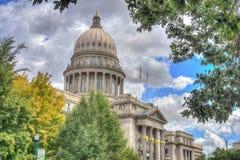 De Hoofdbouw van de Staat van Idaho Stock Afbeeldingen