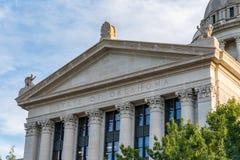 De Hoofdbouw van de Staat van Oklahoma Royalty-vrije Stock Afbeelding
