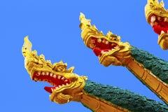 De hoofden Azië van de draak Stock Fotografie