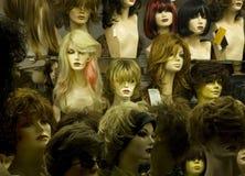 De hoofden van de mannequin stock afbeelding
